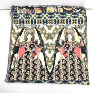 Jersey Scarf Stretch Rectangle Victorian Horses
